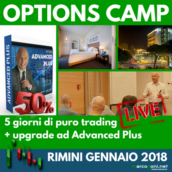 Options Camp + upgrade Advanced Plus